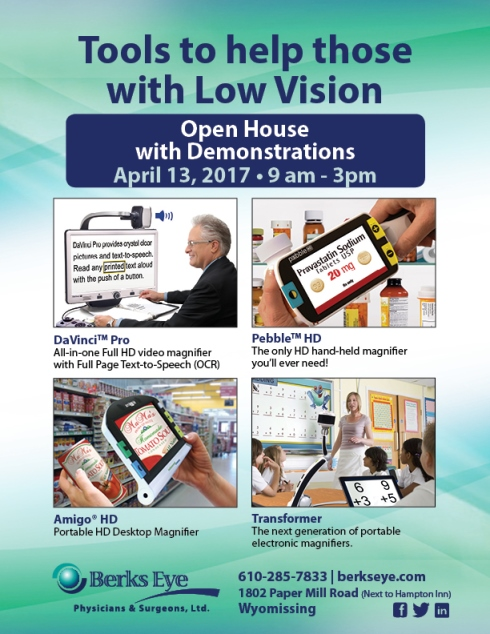 Low vision email blast