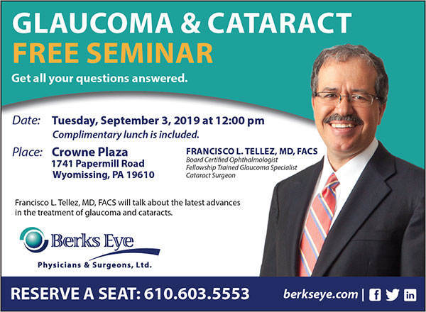 Glaucoma & Cataract Free Seminar