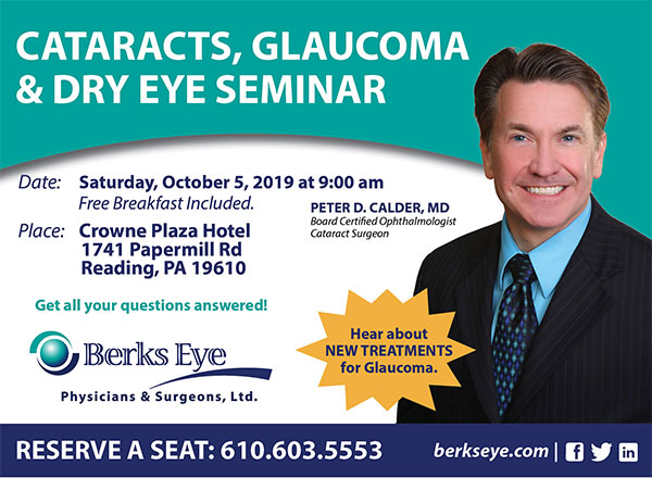 Cataract, Glaucoma & Dry Eye Seminar