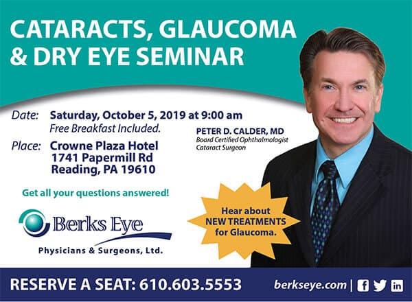 Cataract, Glaucoma & Dry Eye Seminar