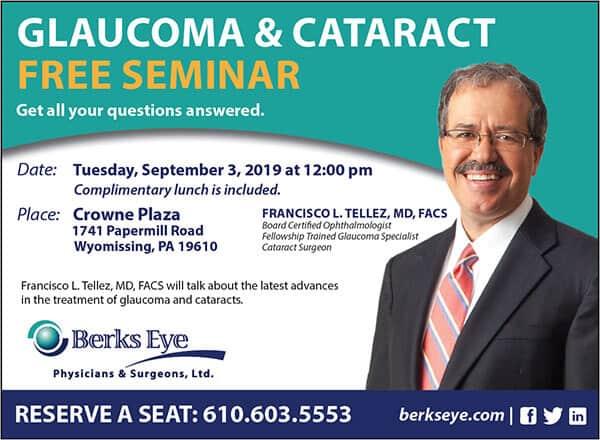 Glaucoma & Cataract Free Seminar