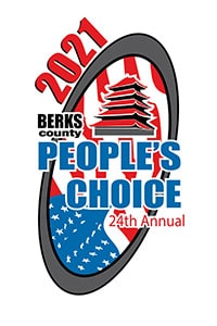 Berks County People's Choice 2021 award