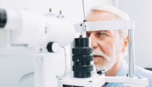 Comprehensive Eye Exam for a Patient